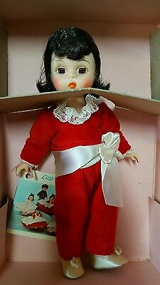 Vintage Madame Alexander 8 Inch Doll Red Boy 440 With Box ,tag