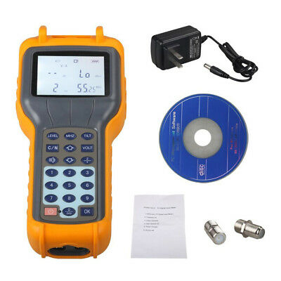 RY-S110 CATV Cable TV Handle Digital Signal Level Meter DB Tester Brand New
