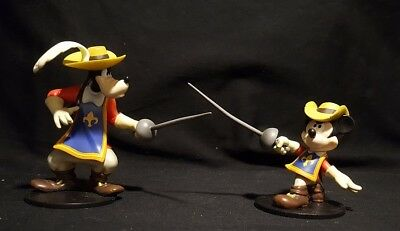 Disney Mickey Mouse and Goofy Three Musketeers Figures by Tomy