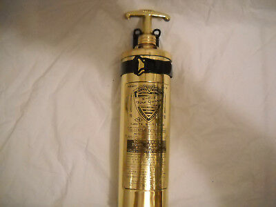 "Vintage General ""sos"" Fire Guard Fire Extinguisher ""chris-Craft 1942, 1946"