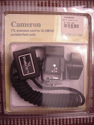 Olympus-Cameron TTL Ext. Cord for Olympus Portable Flash Units - New Item