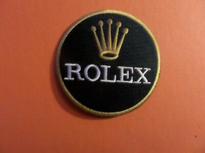 ROLEX WATCHES green & gold  IRON ON 3 X 3 PATCH