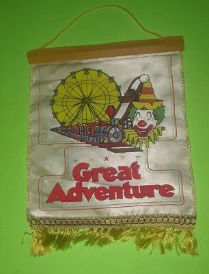 Vintage Six Flags Great Adventure Banner