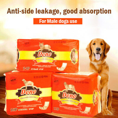 Pet Dog Diapers Male Dogs Paper Physiological Diaper Disposable Male Wraps