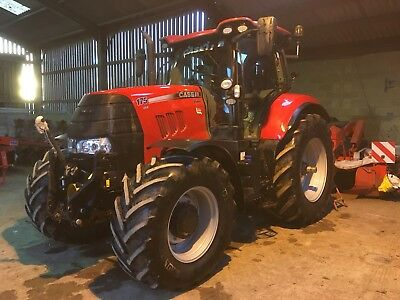 Case Tractor 175 Cvx Front Pto New Holland + Vat