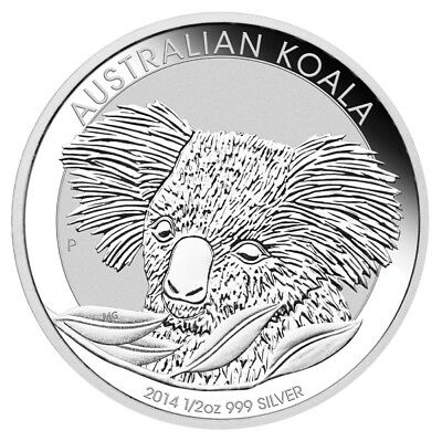 2014 Australian Koala 1/2oz .999 Silver Bullion Coin – The Perth Mint