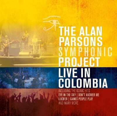 Alan Parsons Symphonic Project - Live In Colombia NEW CD