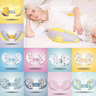 Folding Maternity Pillow Nursing Pregnancy Side Sleeper Support Cushions