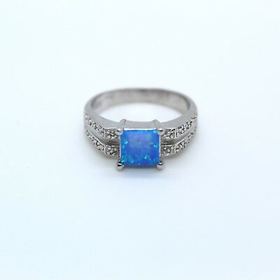 Sterling 925 silver Ring with Opal vintage