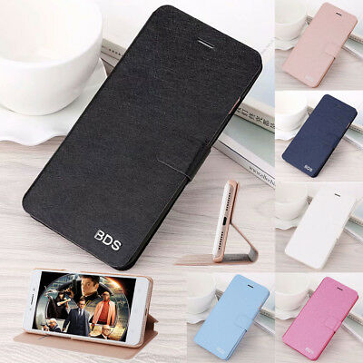 For Meizu 15 M15/15 Lite M5C Pro 6 Plus PU Leather Wallet Flip Stand Case Cover