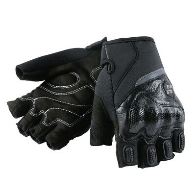 New Arrival Motorcycle Gloves Half Finger with Protective Hard Knuckle for Adult