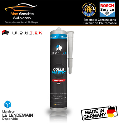 IRONTEK Joint Colle Noir MS Polymere 310ml