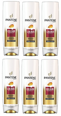 6x Pantene Pro-V Colour Protect Conditioner 250ml for coloured hair