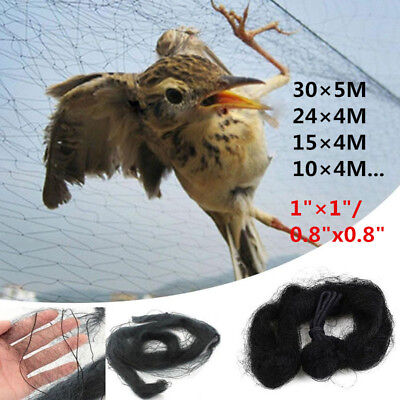 Anti-Bird Pond Net Netting Protection Plants Veg Crops Fruit Garden Fine Mesh UK