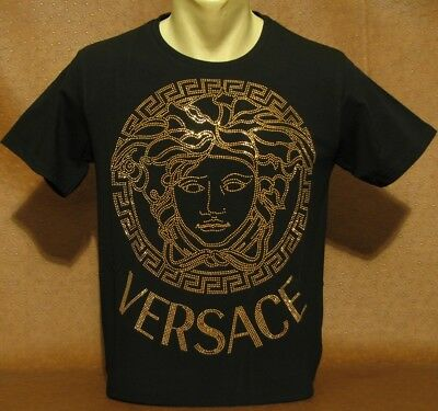 cb608032 SUMMER '18 NEW With Tags MEN'S VERSACE T-SHIRT Skinny Fit Size M- L ...