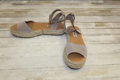 6456c951f6e LANVIN SANDALS 38.5 Espadrille Sandal Pearls Embellished Tan Leather ...