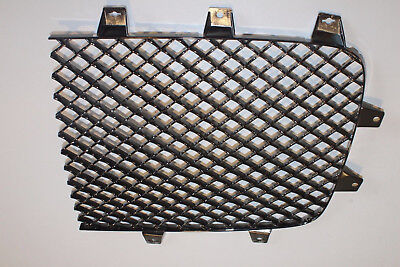 Bentley Continental Gt Gtc Speed Left Dark Smoke Chrome Radiator Grill