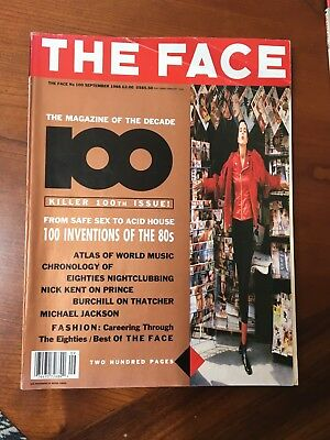 THE FACE MAGAZINE VOL.1 #100 One Hundred Inventions Of The 80's