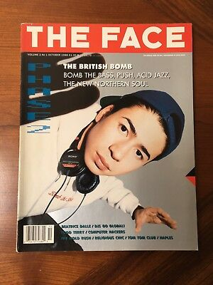 THE FACE MAGAZINE VOL.2 No. 1 October 1988 British Dance Music
