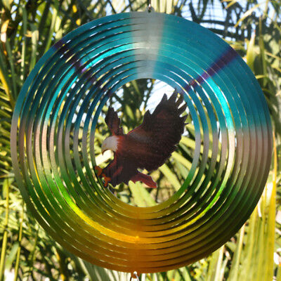 Stainless Steel Wind Spinner - Eagle