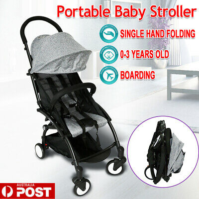Foldable Carriage Baby Lightweight Stroller Pram Jogger Carry-on Plane Pushchair