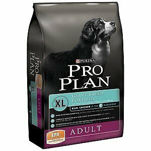 Purina Pro Plan Dry Dog Food Giant Breed Adult Chicken and Rice 34 lbs