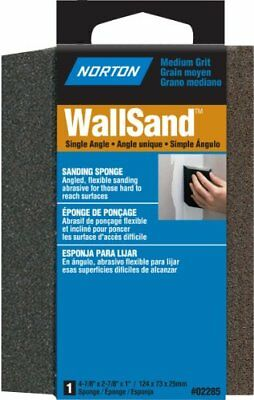 Norton 02285 Wallsand One Angle Sanding Sponge Grit Medium