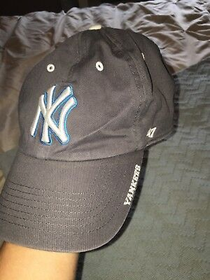 a2b3a2d9091 New York Yankees  47 Brand GRAY Clean Up Adjustable Men s One Size Hat