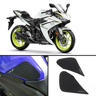 Tank Traction Side Pad Gas Knee Grip Protector Anti slip For Yamaha YZF R3 R25