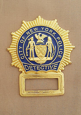 NYPD Detective Police Badge