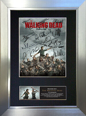 THE WALKING DEAD No2 Signed Autograph Mounted Photo Repro A4 Print 724