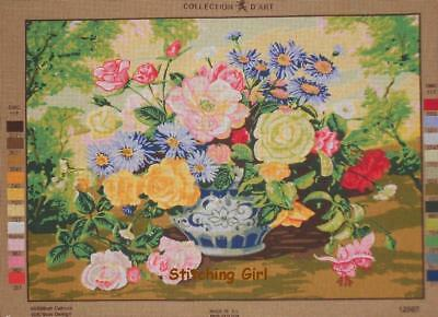 Spring Floral Tapestry To Stitch