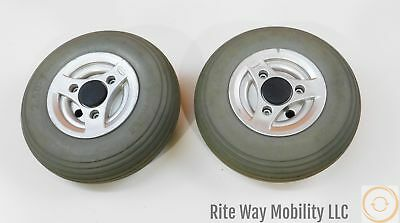 Rear Casters for Permobil C300 Power Wheelchairs~2.50-3