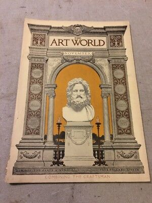 The Art World  Magazine Gustav Stickley Craftsman House Plans November 1917