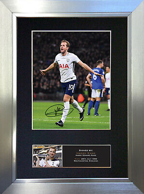 HARRY KANE Signed Autograph Mounted Photo Repro A4 Print 740
