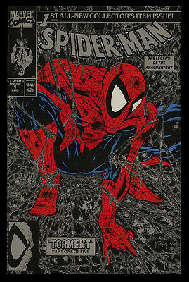 Spider-Man #1 NM 9.8  Rare Silver Cover First Edition