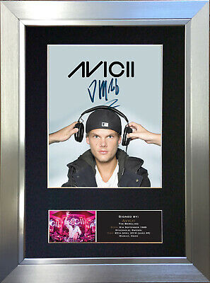 AVICII Signed Autograph Mounted Photo Repro A4 Print 744