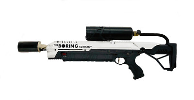 The Boring Company Not A Flamethrower Manual + All Box Contents