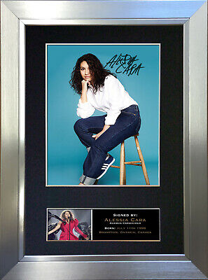 ALESSIA CARA Signed Autograph Mounted Photo Repro A4 Print 747