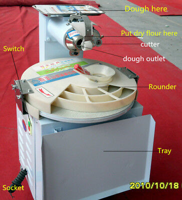Automatic Dough Divider Rounder 3200/hr No Reserve Auction (FREE SHIPPING)