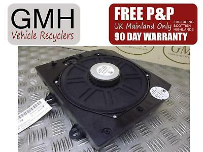 Bmw X3 E83 Right Driver Offside Front Floor Bass Cab Loud Speakers 2004-2010~