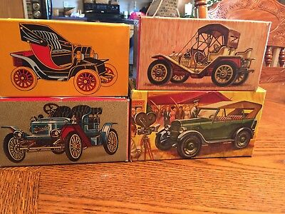 Vintage Avon Bottle Lot Cars