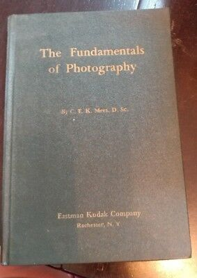 1938 The Fundamentals Of Photography Eastman Kodak  Hardback Book  Camera