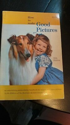 1957 KODAK HOW TO MAKE GOOD PICTURES PAPERBACK BOOK photography