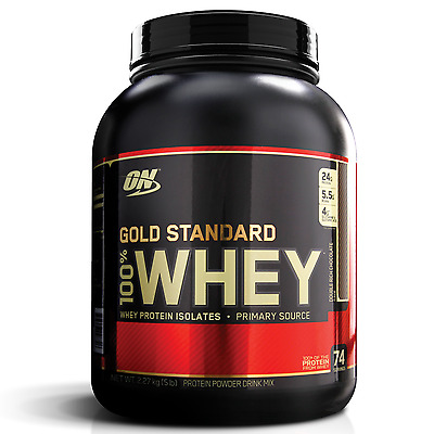Optimum Nutrition Gold Standard 100% Whey 5Lb Protein Blend Isolate Wpi // Wpc