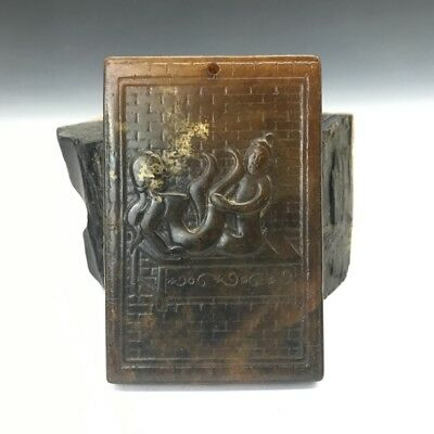 Collect China old and worn-out Xiuyan jade board.  b14