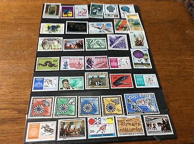 RWANDA SMALL SECTION OF STAMPS pack 33g