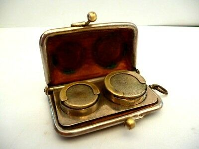 Leather Purse Sovereign & Half Sovereign Case