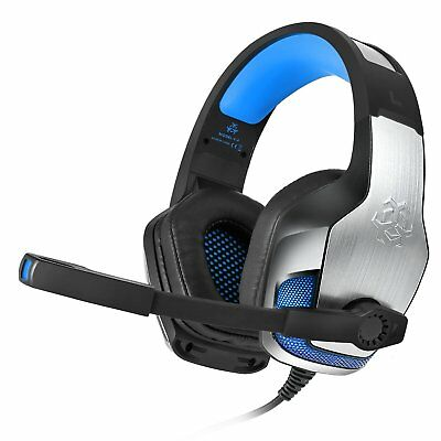 Hunterspider V4 Mic Stereo Bass Surround Gaming Headset For PC PS4 Xbox One 360E