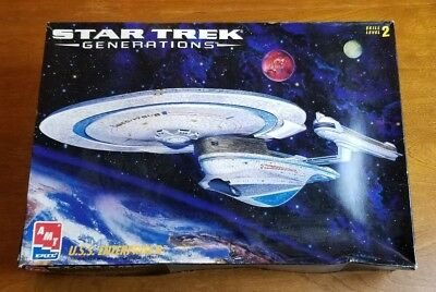 AMT ERTL 1:1000 Star Trek Generations U S S  Enterprise